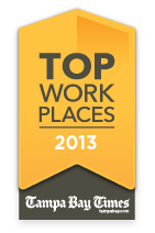 Tampa Bay Times Top Work Place 2013