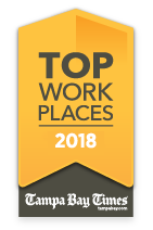 Tampa Bay Times Top Work Place 2018