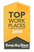 Tampa Bay Times Top Work Place 2019