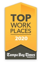 Tampa Bay Times Top Work Place 2020